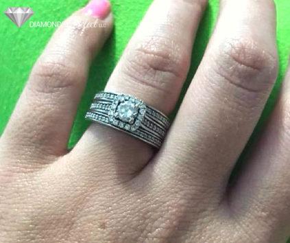Three Band Diamond Ring by Diamonds Select