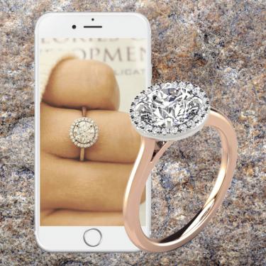 custom engagement ring diamonds select